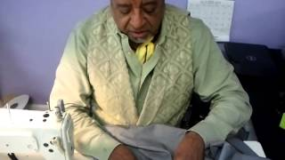 Master Tailor Tip: How to Narrow a Jacket Shoulder- Deconstructing the jacket shoulder video 1 of 3