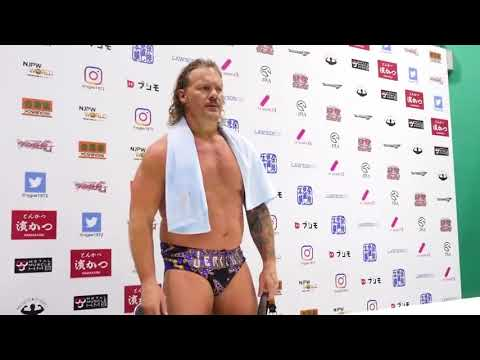 Kenny Omega & Chris Jericho post-match press conference