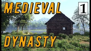 Medieval Dynasty - Средневековая Жизнь КРЕСТЬЯНИНА # 1