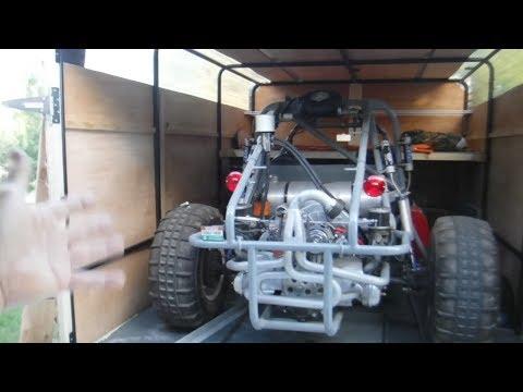 DIY Enclosing My Dune Buggy Trailer Pt 2