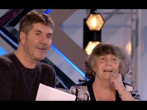 His Nan Is In The Panel, Watch He Got 5 YES | Audition 1 | The X Factor UK 2017