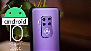 Motorola One Zoom Official Android 10 Update