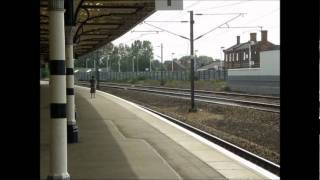 High Speed Trains at Retford Station HST 125 225 and 180 Sets 3rd Sep 2011.wmv