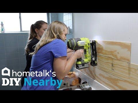 Shiplap Bathroom Makeover   DIY Nearby   Hometalk