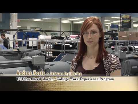 The UCF/Lockheed Martin College Work Experience Program
