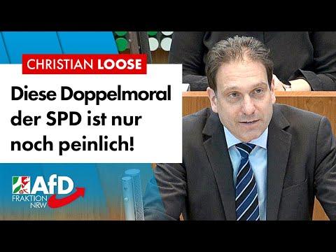 Diese Doppelmoral der SPD ist nur noch peinlich! – Christian Loose (AfD)