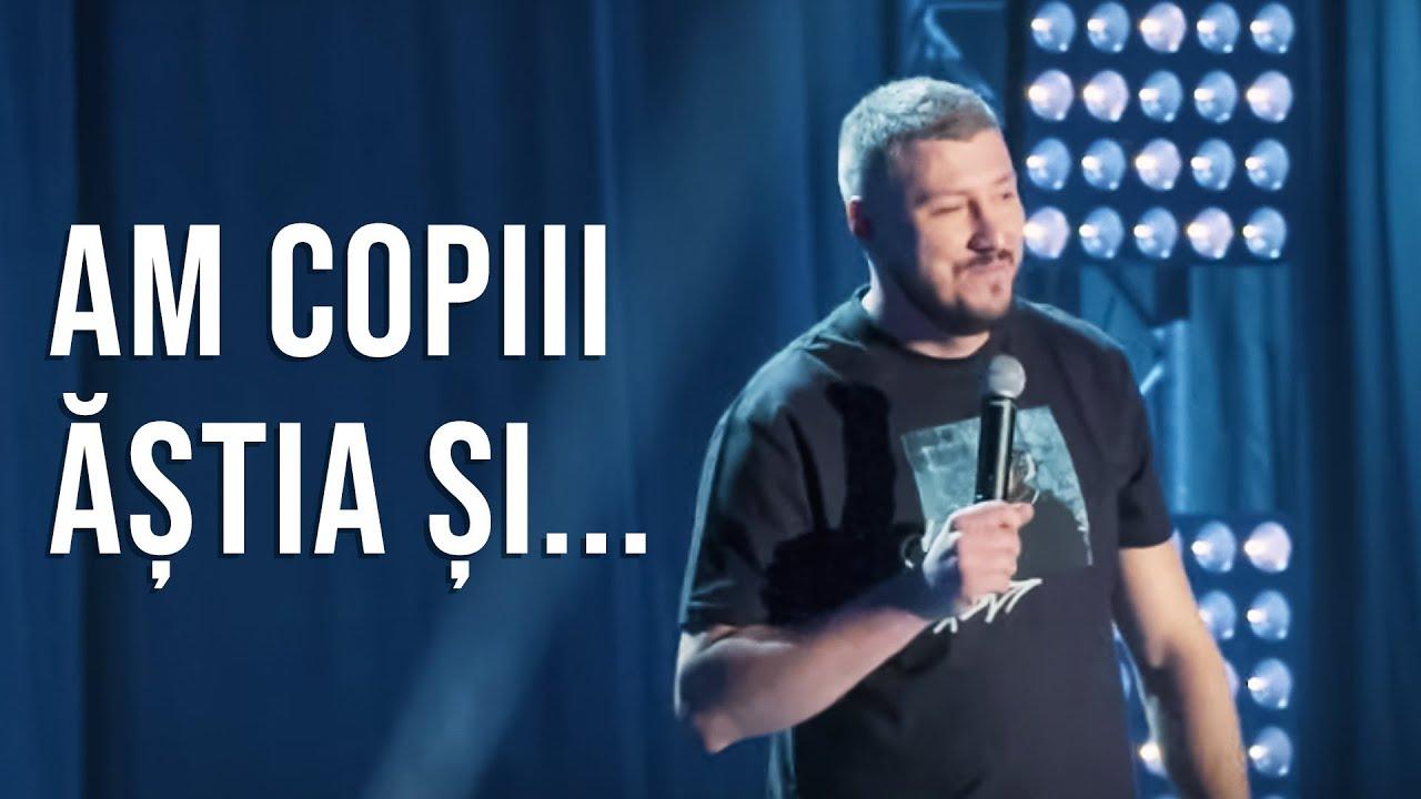Sorin Pârcălab: AM COPIII ĂȘTIA ȘI... - Stand-up Comedy la Sala Palatului