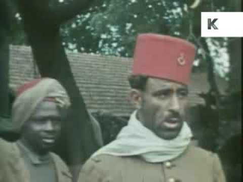 POWs From French Colonies - Rare Colour WWII German Soldier's Home Movies