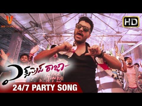 Express Raja Telugu Movie Songs   24/7 Party Song Trailer   Sharwanand   Surabhi   UV Creations