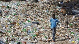 Острова из мусора в океанах