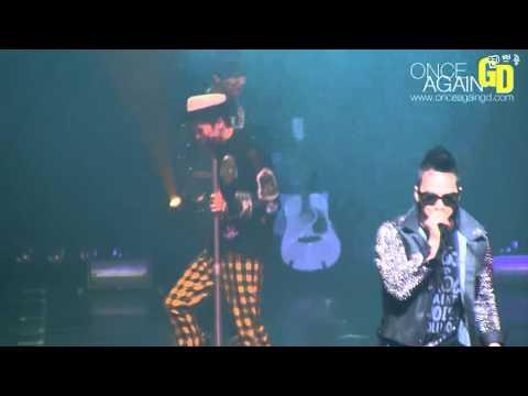 [Fancam] 110416 G-Dragon@Psy concert - Tonight [onceagaingd]