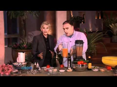 Ellen Learns New Recipes from Chef Jose Andres