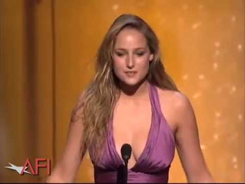 Leelee Sobieski Salutes Al Pacino at the AFI Life Achievement Award