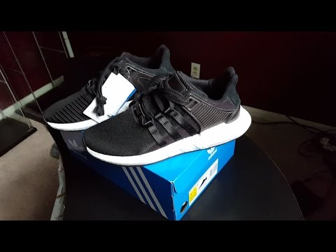 watch 84512 d98a6 Adidas EQT Support 9317 Core BlackMilled Leather Pack Review!!!  Urbanjungle Unboxing!!