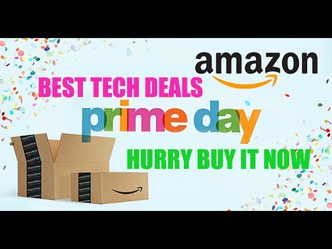 Best Amazon Prime Day tech deals