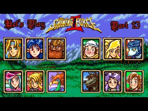 Let's Play Shining Force 2 13: This is Normal?