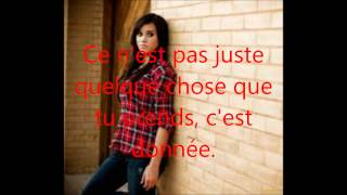 Rihanna Stay cover Megan Nicole traduction Francaise.