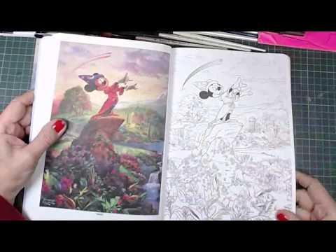 happpy-mail-disney-dreams-collection-and-posh-colouring-book-by-thomas-kinkade