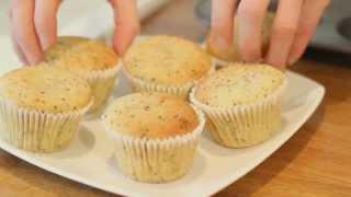 Lemon Chia Muffins (gluten And Dairy Free)