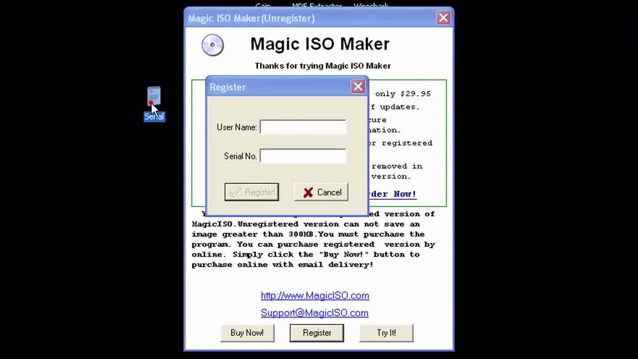 activate magic iso