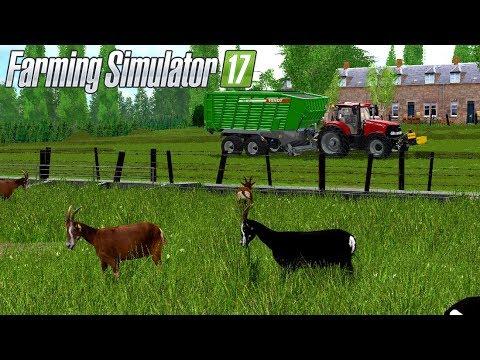nourrir les ch vres sur fs17 un petit coin de belgique farming simulator 17 youtube. Black Bedroom Furniture Sets. Home Design Ideas