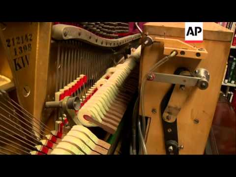Stanford University wants to unlock the secrets of the player piano. Researchers are restoring and s poster
