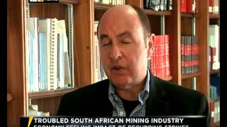 Impacts of recurring mining strikes on South Africa