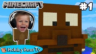 Minecraft Bear Treehouse Build HobbyBearTV