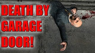 *WARNING* GARAGE DOORS ARE DANGEROUS!! - Gmod Papa Acachalla Funny Family Roleplay (Garry's Mod)