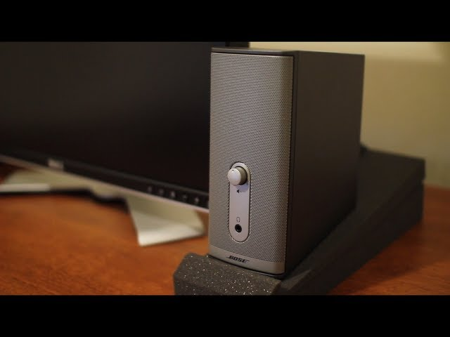 Bose Companion 2 Series Ii Speaker Review Youtube