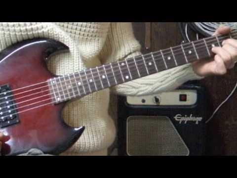 Gibson SG-I Single 500T humbucker eBay item: 260566093645 - YouTube