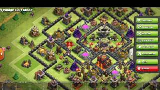 Clash of Clans | New Update TH10 Hybrid Base | With 275 Walls | CoC Town Hall 10 Base [2016]