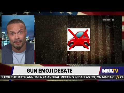 Liberal Snowflakes Triggered by Google Gun Emoji
