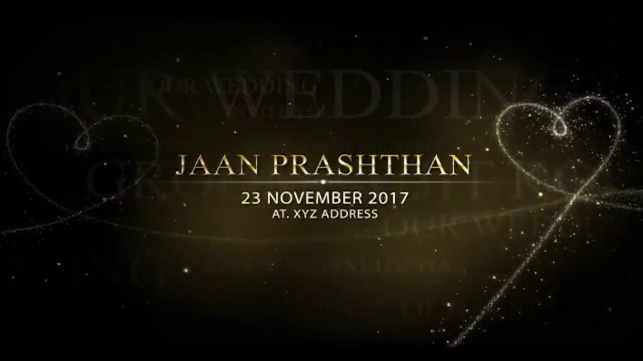WhatsApp Wedding Invitation Video With Free Template Download