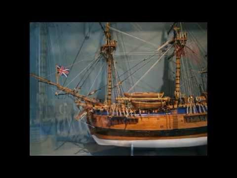 Endeavour-Model-ship-construction