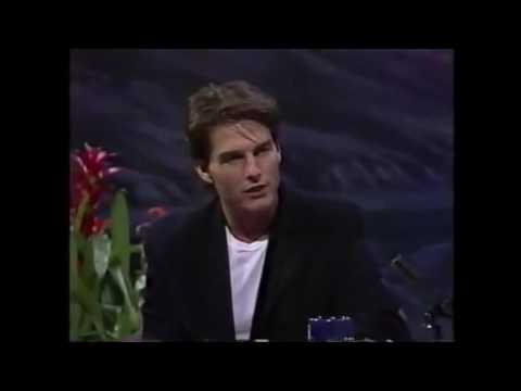 Jay Leno Interviews Tom Cruise 1992
