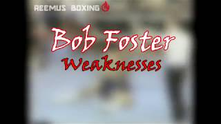 Bob Foster: Right Hand Counters - Weaknesses (Boxing Technique)