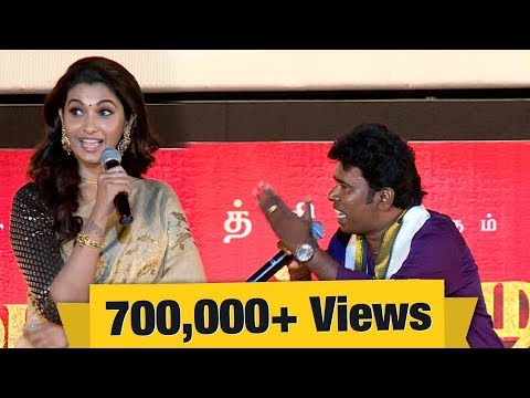 Ramar's special song for Priya Bhavani Shankar | Kadaikutty Singam Audio Launch | IBC Tamil