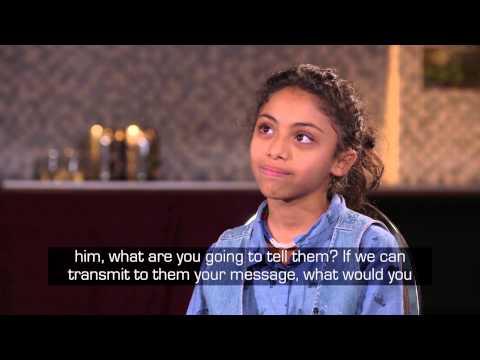 An interview with Raif Badawi's daughter #FreeRaif