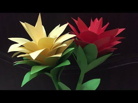 DIY | Paper Flower | Siam Tulip | DIY-Beauty Of Paper
