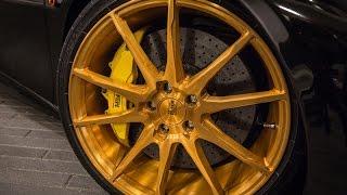 Mạ Vàng 24k cho Lazang Xe Hơi - 24k Gold Plated for Car wheels