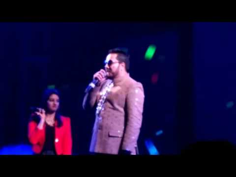Mika sing in Halisahar new year special.......