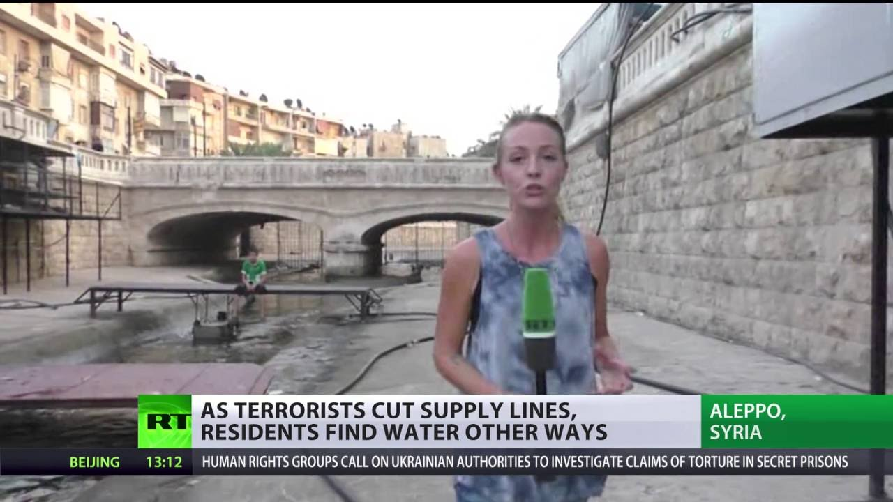Water weapon in Syrian war: Terrorists cut Aleppo supply lines, residents find ways to survive