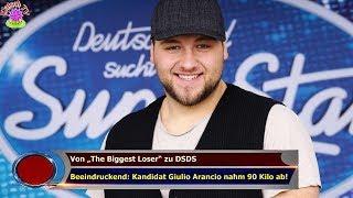 """Von """"The Biggest Loser"""" zu DSDS Beeindruckend: Kandidat Giulio Arancio nahm 90 Kilo ab!"""
