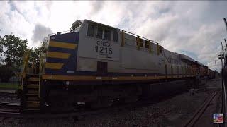 WB Coal Drag with CREX 1215 Olathe, KS 6-13-15 5:34pm