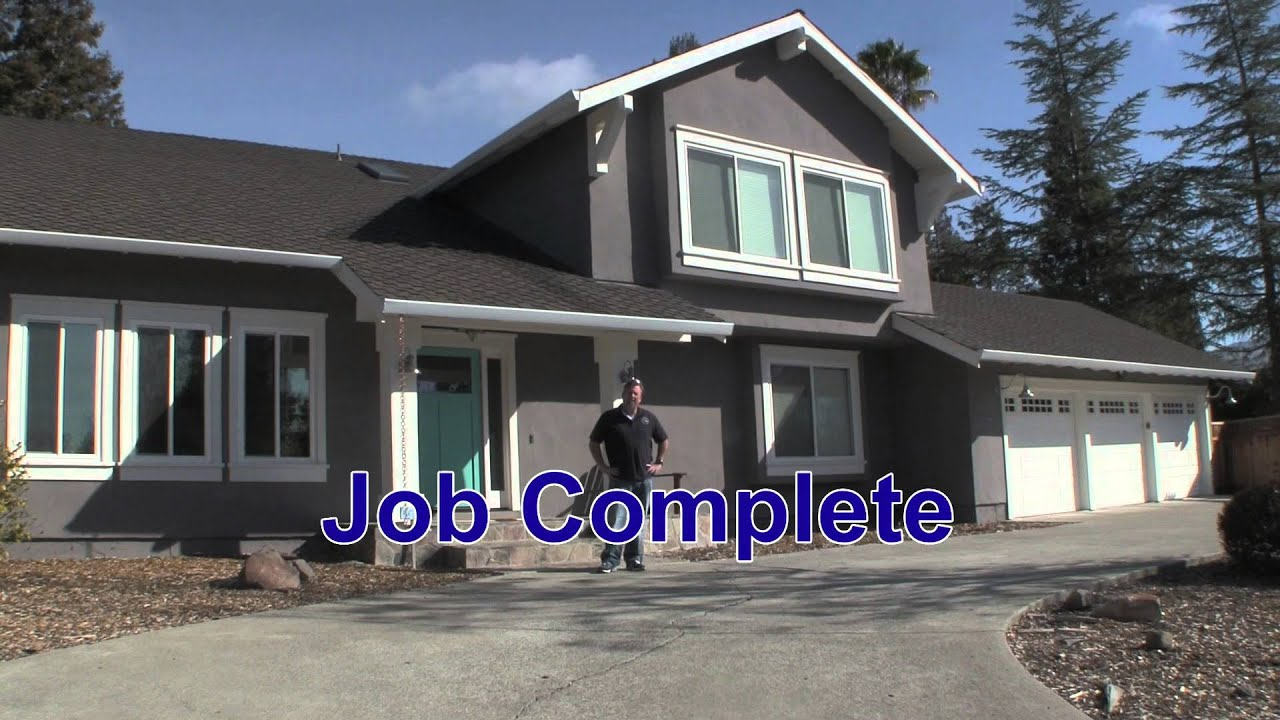 Decade Construction: Stucco/Trim Replacement - YouTube