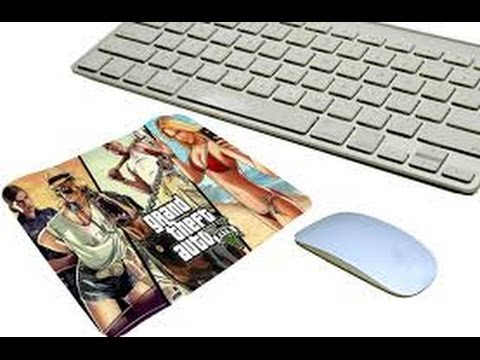 GTA 5 mouse pad Unboxing