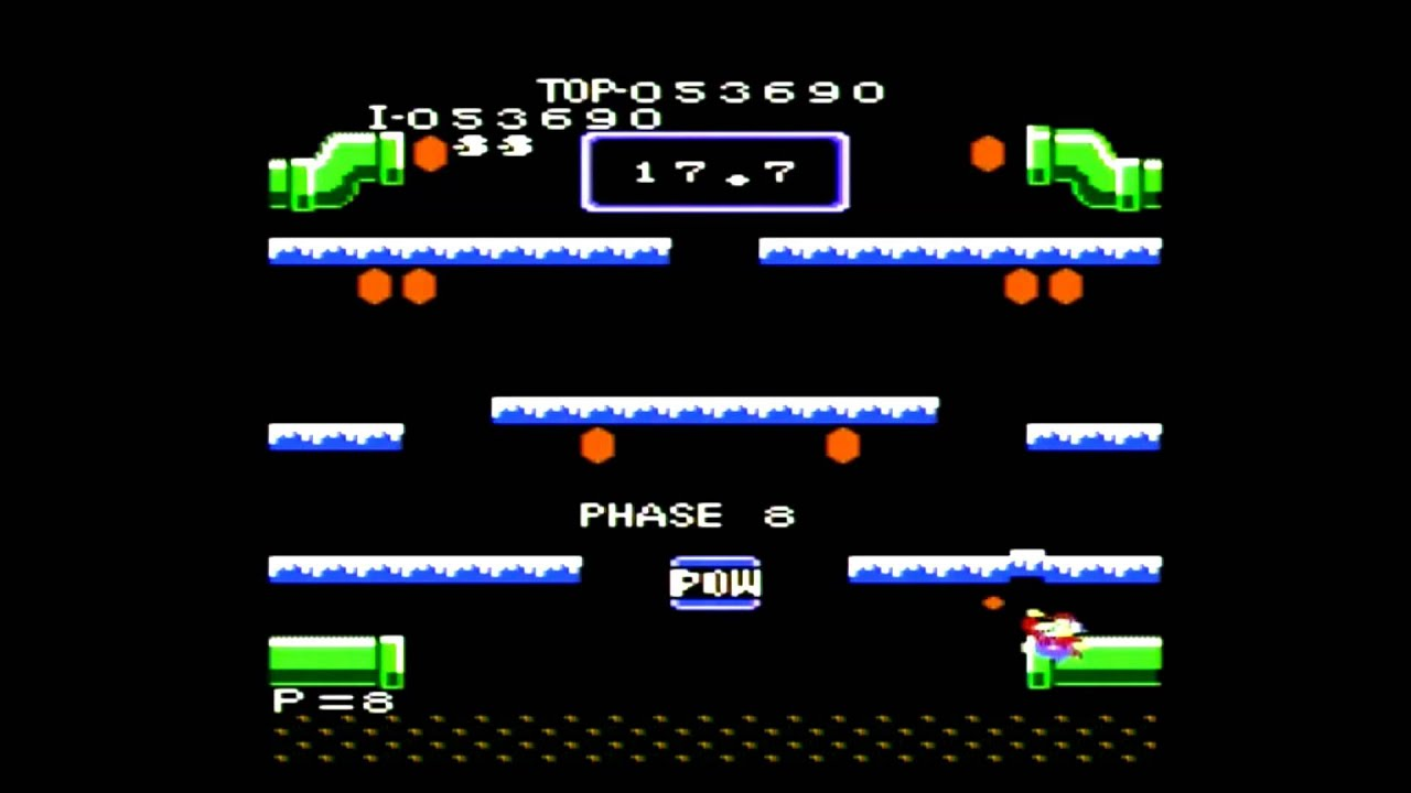 Mario Bros. Atari 7800 Gameplay for the Atari.io ...