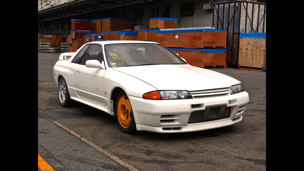 1989 nissan skyline r32 gt r japan auction purchase review youtube vanachro Gallery