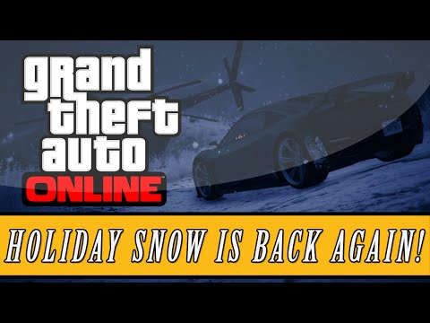 GTA 5: Online | SNOW IS COMING BACK! - Rockstar Confirms Snowfall Again! (Festive DLC)